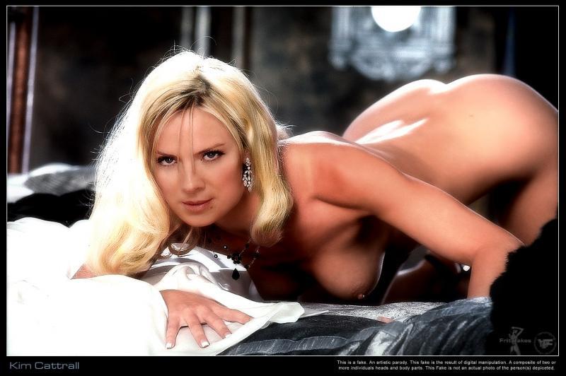 Kim Cattrall zeigt sich nackt auf Tizian-Nachbildung