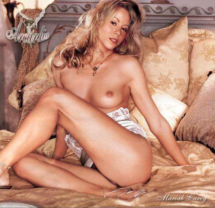 Mariah carey naked fakes
